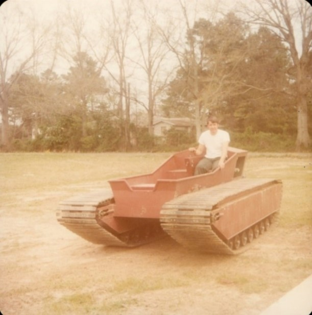 A prototype of what would become the Marsh Master. 1979.